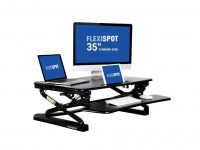 FlexiSpot 35″ Wide Platform Height Adjustable Standing Desk Riser Review